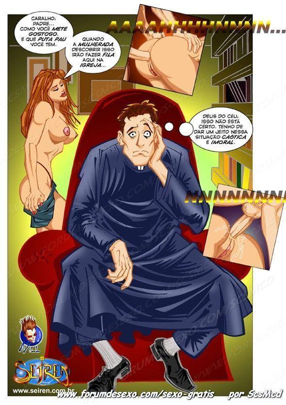 A tentação para um padre - Foto 16