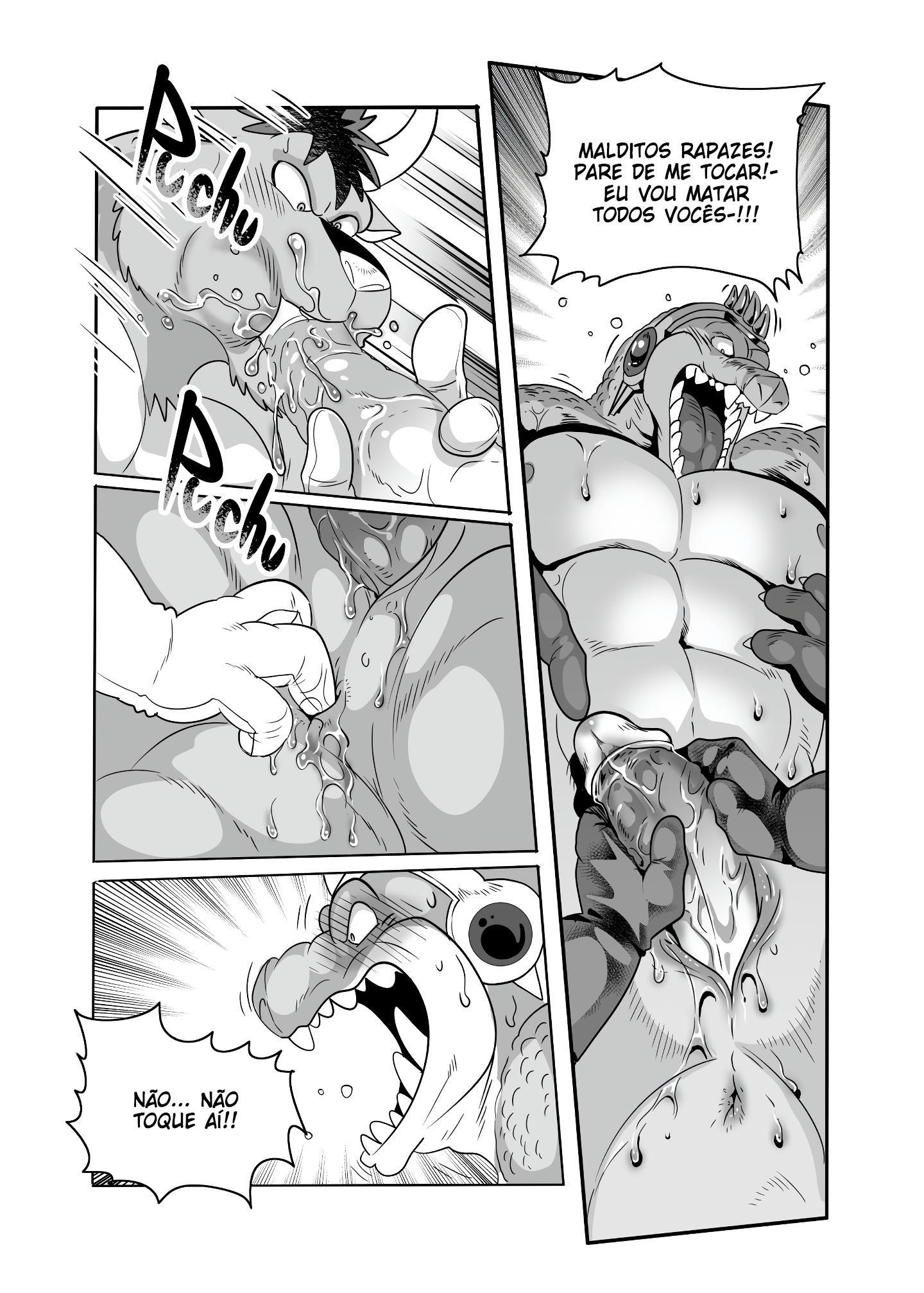 Dragon Quest: Dai no Daiboken Hentai - Crocodine - Foto 10